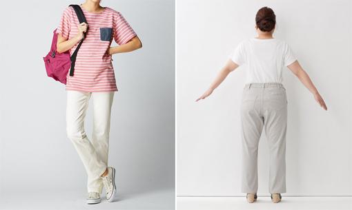 パンツとスニーカーの色を合わせて脚長コーデ ぽっちゃりさんの運動会コーデにオススメ