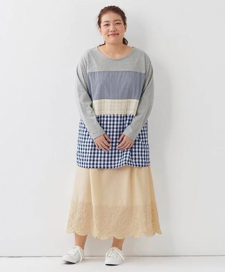 Aラインのスカート
