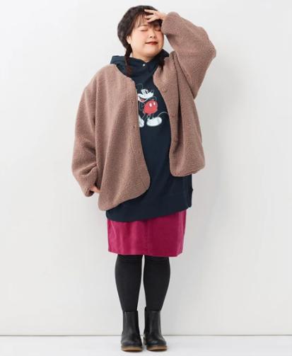 【2020-21年】冬コーデボアジャケット