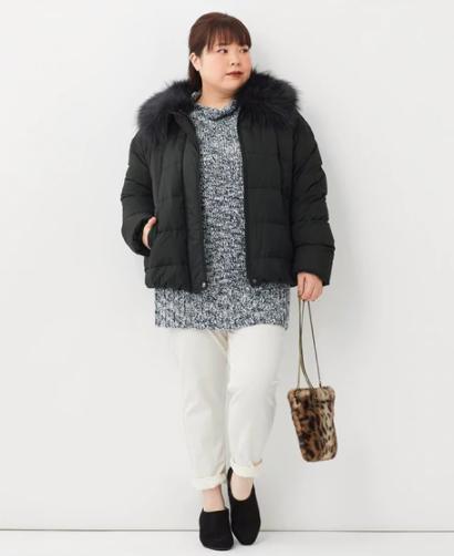 【2020-21年】ぽっちゃりさん向け冬のダウンコート_03